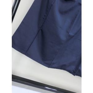 【男物】お召袷着物  大変良い状態です!! 164cm前後ベストサイズ☆紺 kimono-maruichi 06