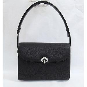 NOEL VOGUE ノエルヴォーグ ハンドバッグ シャークスキンバッグ 保存袋付き☆黒 ブラック|kimono-maruichi