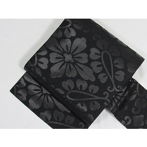 ▼仕様:漆仕様 花菱 仕立て上がり ▼素材:絹100%  ▼サイズ(約):長さ3m57cm 巾約30...