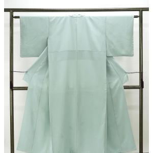 訪問着 正絹 染色作家 斉藤三才作 訪問着 美品 リサイクル 着物
