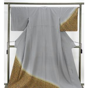 訪問着 未着用 正絹 染色作家 斉藤三才作 訪問着 未使用  着物