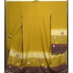 振袖 未着用超美品 正絹 刺繍宝尽花模様 振袖 未使用  新古品  着物|kimono-syoukaku