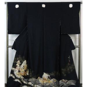 留袖 新品仕立付き 正絹 伝統工芸士槇一美作 留袖 新品  未仕立  フルオーダー  誂え仕立て|kimono-syoukaku