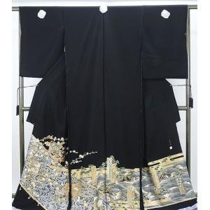 留袖 新品 仕立付き 正絹 宝飾螺鈿作家甲斐泰造作 留袖  新品  未仕立|kimono-syoukaku