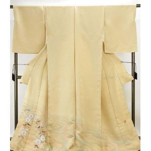 色留袖 新品仕立付き 正絹 二代久保田一竹作 一竹辻が花 辻が花絞り 色留袖 新品  未仕立  フルオーダー  誂え仕立て   着物|kimono-syoukaku