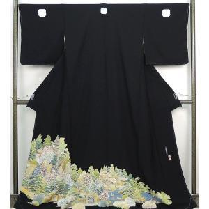 留袖 未着用美品 正絹 加賀友禅押田正一郎作 留袖 未使用  新古品  着物|kimono-syoukaku