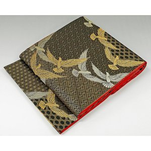 袋帯 未着用超美品 正絹 染色作家 斉藤三才作 袋帯 未使用 新古品