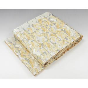 10%OFF\PRICE DOWN/SALE!袋帯 未着用超美品 正絹 折り鶴模様 袋帯 未使用 新...