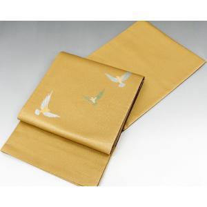 袋帯 新品仕立済 正絹 染色作家 斉藤三才作 袋帯 新品  仕立て上がり