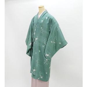 単衣  道中着 新品仕立済 正絹 単衣 葡萄模様 道中着 薄物コート 新品  仕立て上がり|kimono-syoukaku