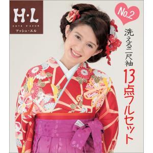 二尺袖&袴(はかま) H・Lブランド  《No2》 13点フルセット取り寄せ品 |kimono-waku