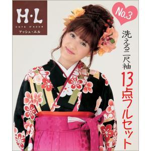 二尺袖 袴セット 新品 H・Lブランド  《No3》 13点フルセット取り寄せ品 |kimono-waku