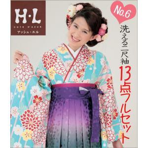 二尺袖 袴セット 新品 H・Lブランド  《No6》 13点フルセット取り寄せ品 |kimono-waku