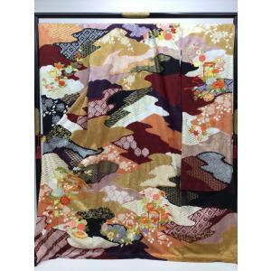 千總謹製 貝桶文様 振袖(長襦袢付) kimono-waraji