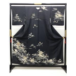 訪問着 抜一ッ紋入り|kimono-waraji