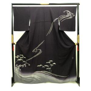 清染居作 訪問着 kimono-waraji