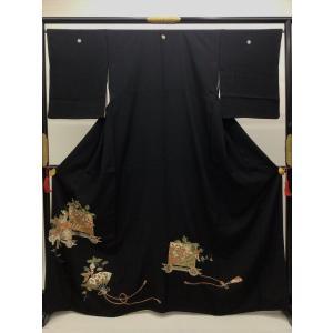 黒留袖 御所車 kimono-waraji