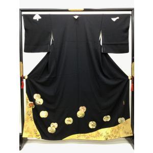 光琳謹製 黒留袖 kimono-waraji