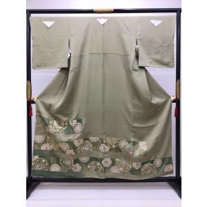 刺繍色留袖 kimono-waraji