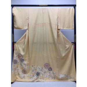 色留袖 比翼付 (身巾広め) kimono-waraji