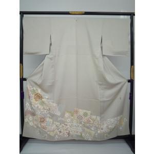 単衣 色留袖 縫一つ紋入り|kimono-waraji