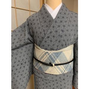 単衣小紋 |kimono-waraji|07