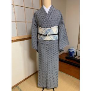 単衣小紋 |kimono-waraji|08