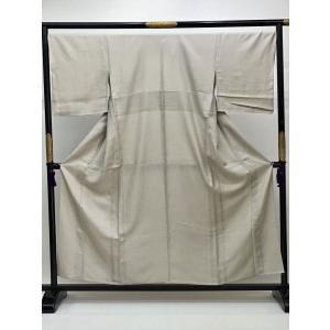 単衣小紋 (縫い一つ紋入り)|kimono-waraji
