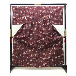染め紬|kimono-waraji
