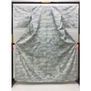 本場結城紬 100亀甲 kimono-waraji