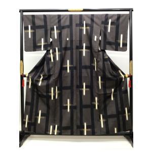 単衣染め紬|kimono-waraji