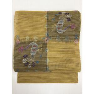 夏八寸名古屋帯  kimono-waraji