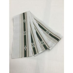 八重山ミンサー織半巾帯|kimono-waraji