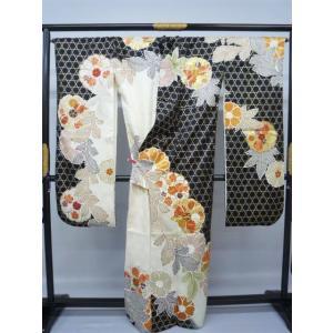 籠目文様 振袖|kimono-waraji|02