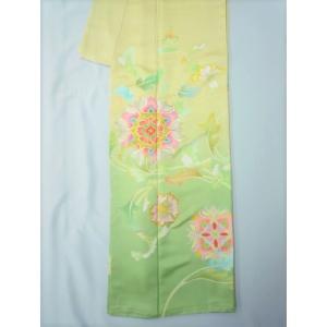 花唐草文様 綸子地振袖 kimono-waraji 04