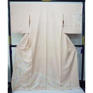 訪問着(縫い一つ紋入り)|kimono-waraji