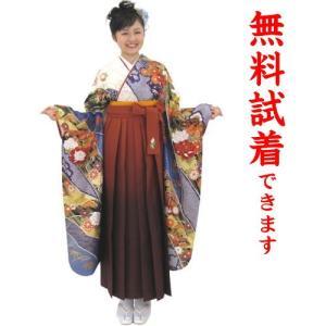 桂由美 袴レンタル M−007番 19点フルセットレンタル 往復送料無料 kimono-world