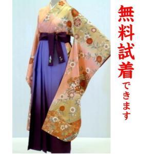 袴レンタル M−009番 19点フルセットレンタル 往復送料無料 kimono-world