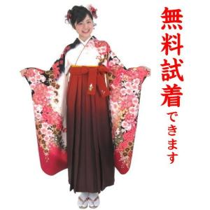 桂由美 袴レンタル M−012番 19点フルセットレンタル 往復送料無料 kimono-world