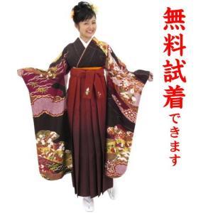袴レンタル M−018番 19点フルセットレンタル 往復送料無料 kimono-world