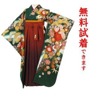 桂由美 袴レンタル M−019番 19点フルセットレンタル 往復送料無料 kimono-world