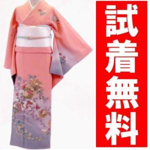 訪問着レンタル 006番 19点フルセットレンタル 往復送料無料 kimono-world