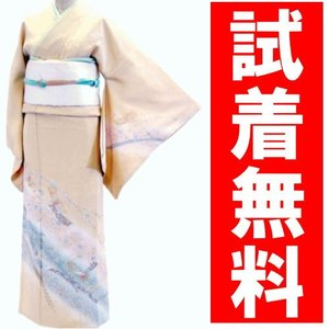 訪問着レンタル 009番 19点フルセットレンタル 往復送料無料 kimono-world