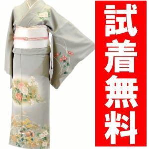 訪問着レンタル 016番 19点フルセットレンタル 往復送料無料 kimono-world