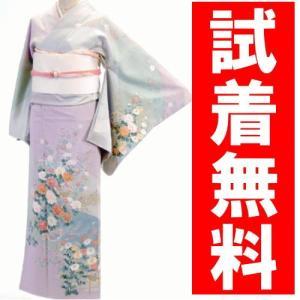 訪問着レンタル 018番 19点フルセットレンタル 往復送料無料 kimono-world