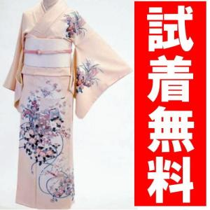 付け下げ 訪問着レンタル 020番 19点フルセットレンタル 往復送料無料 kimono-world