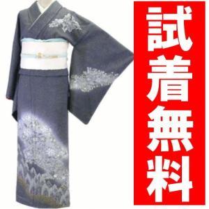 訪問着レンタル 023番 19点フルセットレンタル 往復送料無料 kimono-world