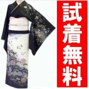 訪問着レンタル 025番 19点フルセットレンタル 往復送料無料 kimono-world