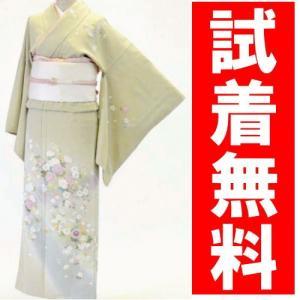 訪問着レンタル 026番 19点フルセットレンタル 往復送料無料 kimono-world