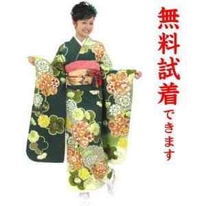 振袖レンタル M−001番 22点フルセットレンタル 往復送料無料|kimono-world